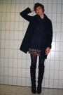 Black-h-m-coat-gray-h-m-sweater-red-pimkie-dress-black-tights-black-sach
