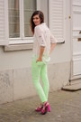 Lime-green-pants