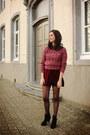 Boots-coat-skirt
