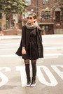 Black-dress-black-coat-black-forever-21-socks-black-sneakers