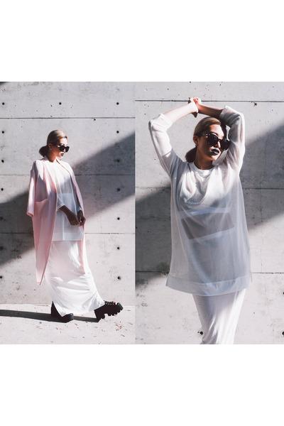 Monki-coat-t-by-alexander-wang-bra-bkbt-concept-top-rick-owens-skirt