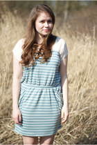 turquoise blue kling dress