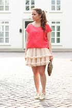 Tutu skirt - Zara bag - Qed London t-shirt