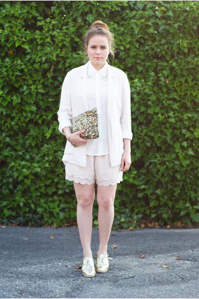 Zara bag - Primark blazer - H&M shorts - Zara blouse