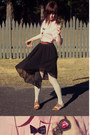 Wholesale-shirt-forever-21-tights-floral-oxfords-asos-loafers