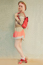 Red-asos-bag-beige-boater-wholesale-hat-white-lace-frill-vintage-socks