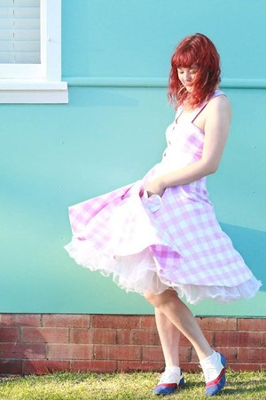 bubble gum handmade dress