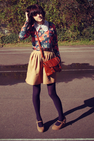 camel wholesale dress - ruby red asos sweater - deep purple Just jeans tights