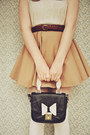 Black-oasap-shoes-beige-diy-dress-camel-boater-wholesale-hat