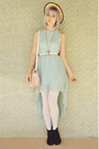Light-blue-pleated-glamorous-uk-dress-black-suede-lace-up-rubi-shoes-boots