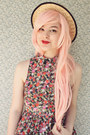 Bubble-gum-choies-tights-light-pink-the-white-pepper-dress
