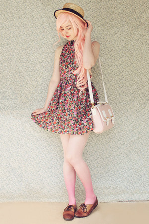 light pink wholesale bag - light pink The White Pepper dress