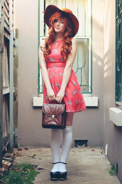 orange wig Choies accessories - black Label Shoes shoes
