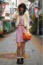 Black-boots-vintage-boots-bubble-gum-vintage-from-japan-dress