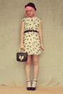 Black-oasap-bag-cream-no-brand-dress-white-diy-accessories