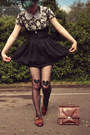Black-diy-stockings-brown-straw-bowler-wholesale-dress-hat