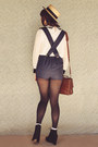 White-sheer-diy-socks-black-rubi-shoes-boots-gold-ebay-bag