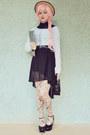 Black-flatform-style-label-shoes-shoes-black-awwdore-dress