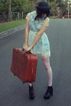 wholesale dress - sequinned boots wholesale boots - suitcase vintage bag