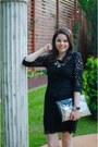 Black-zara-dress-silver-sheinside-bag-black-zara-sandals
