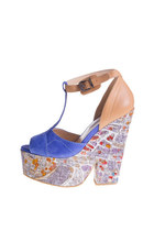 Paris Print Wedge