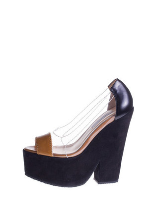 Carven wedges