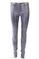 Metallic Coated Jean