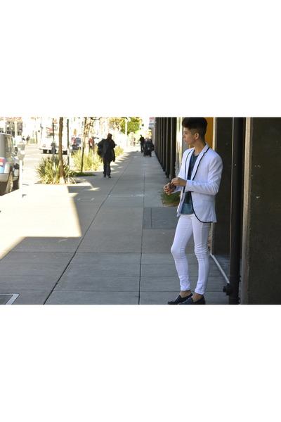 cotton cotton on jeans - linen Zara blazer