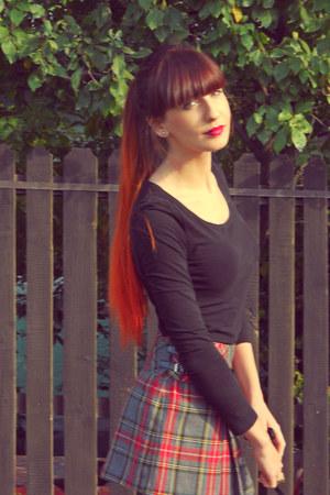 Bershka skirt - pull&bear blouse
