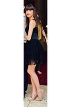 black infiniteen dress - neutral rlv sandals