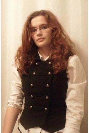 black Forever21 vest