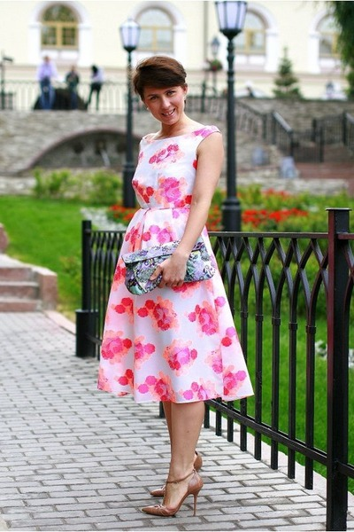 bubble gum asoscom dress