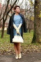 cream Aldo heels - ivory Zara gloves