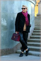 black leather Alexander Wang at H&M pants - black Alexander Wang at H&M jacket