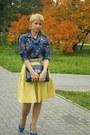 Blue-zara-scarf-navy-aldo-bag-blue-floral-print-zara-blouse