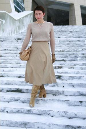 Massimo Dutti bag - Zara sweater