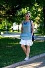 Navy-furla-bag-white-e2o-skirt-sky-blue-tezenis-top