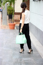 Aquamarine-shoedazzle-bag-brown-urban-outfitters-sunglasses