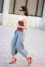 Red-suiteblanco-bag-red-luluscom-heels-ivory-local-store-top