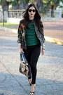 Army-green-charlotte-russe-jacket-green-ralph-lauren-sweater