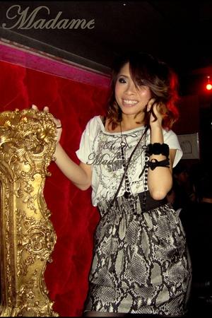 bracelet - skirt - top