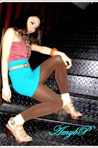 Zara shoes - H&M top - H&M skirt