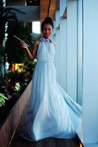sky blue Honor dress