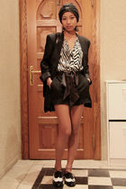 black Stella McCartney - Zara - black Zara shorts - black From Oman - black Mont