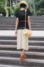 Hat-black-mango-mango-zara-brown-vintage-brown-mango-shoes