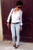 white Tommy Hilfiger - jeans Topshop - JLO by jennifer Lopez