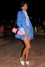 Blue-stella-mccartney-blue-mango-shirt-blue-versus-by-versace-vintage-shorts