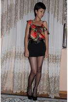 Voom by Joy Han wwwvoomonlinecom dress - studded pumps Mango