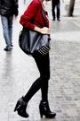Red-miu-miu-black-mango-shirt-black-mango-jeans-black-zara-purse-black-s