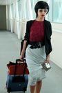 Prada-sunglasses-red-balmain-black-emporio-armani-belt-black-h-m-blazer-